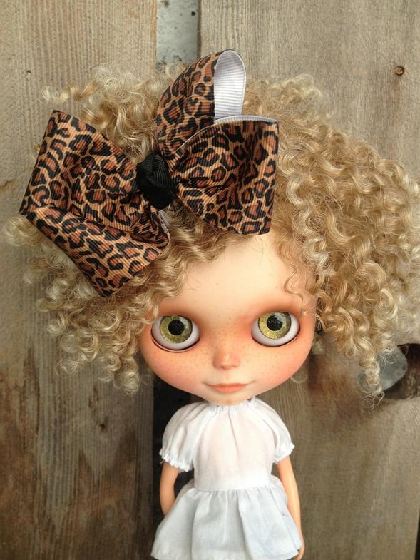 Blythe dolls animalier leopard