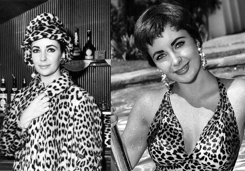Elizabeth Taylor Animalier leopart style