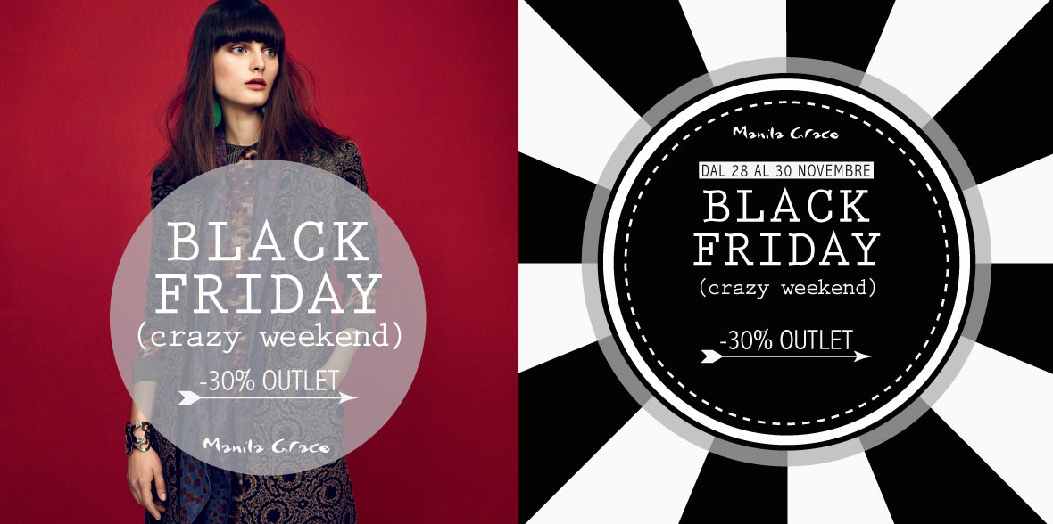 Black Friday prezzi speciali Manila Grace