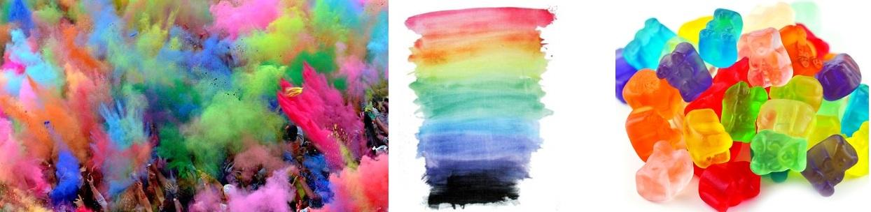 sciarpa arcobaleno tendenza moda Manila Grace