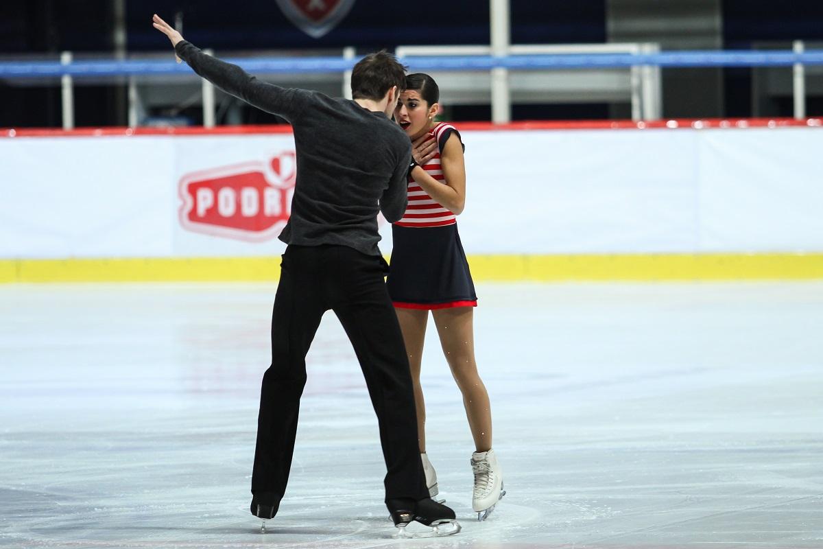Valentina Marchei pattinaggio ghiaccio Manila Grace