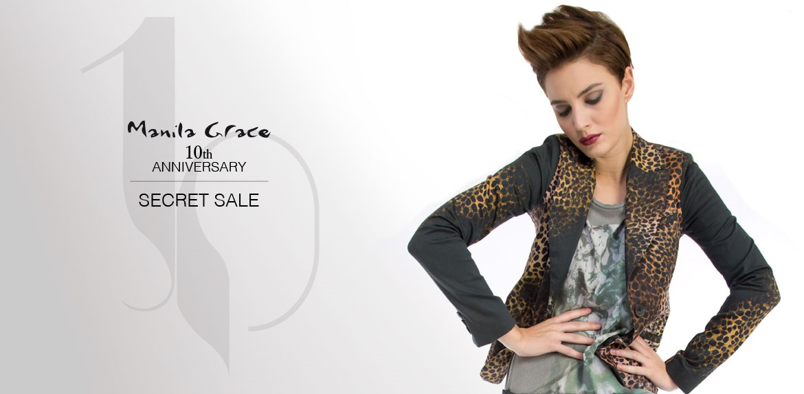blazer animalier secret Sale Manila Grace