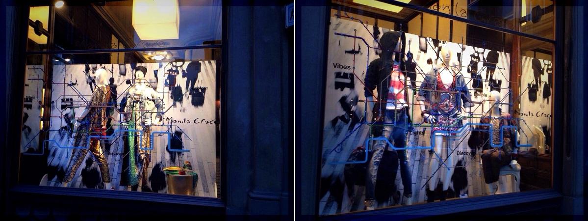 Manila Grace store Pitti Firenze