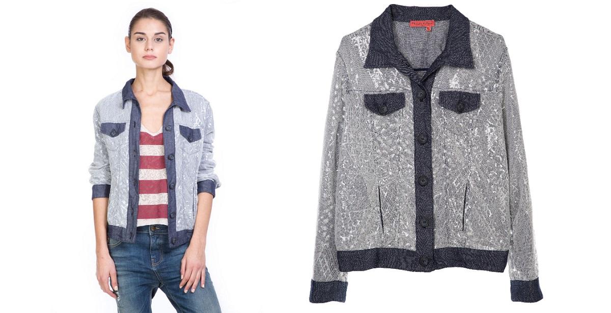 Manila-Grace-Denim-2015-giacca-denim-paillettes