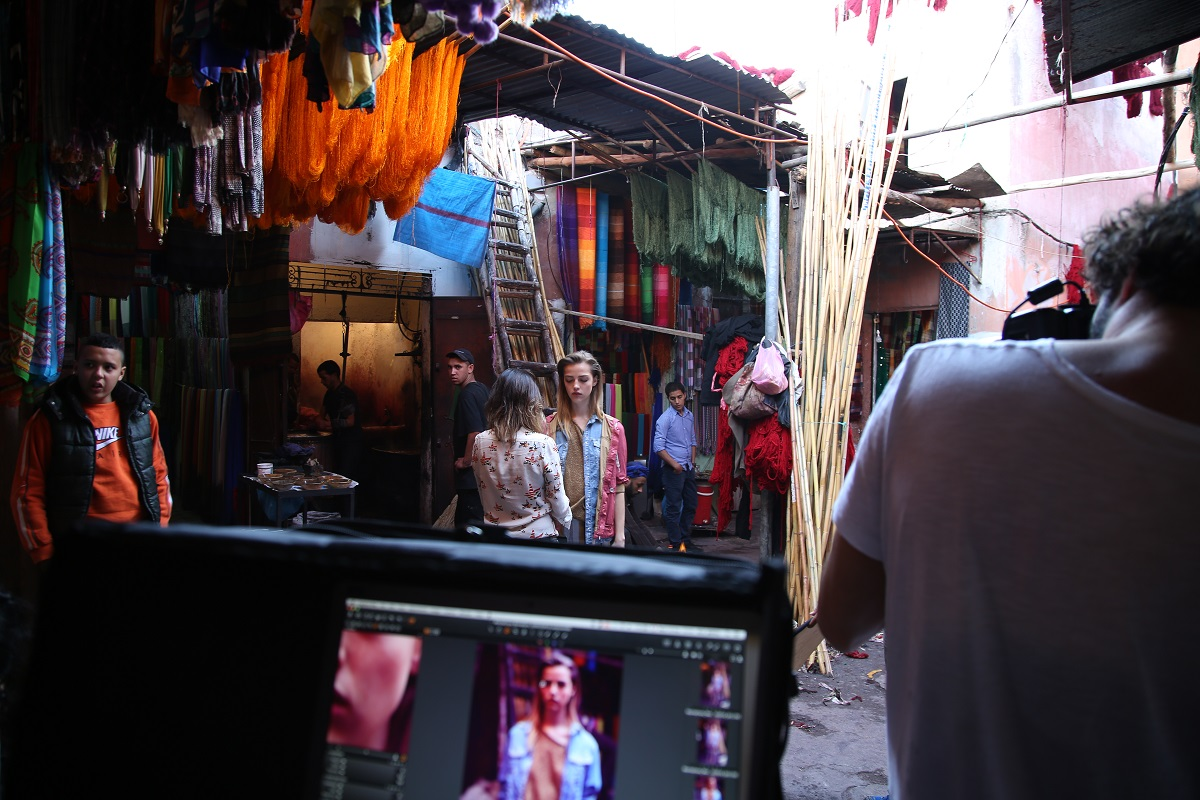 Manila Grace Spring Summer 2015 Marrakech campaign making of