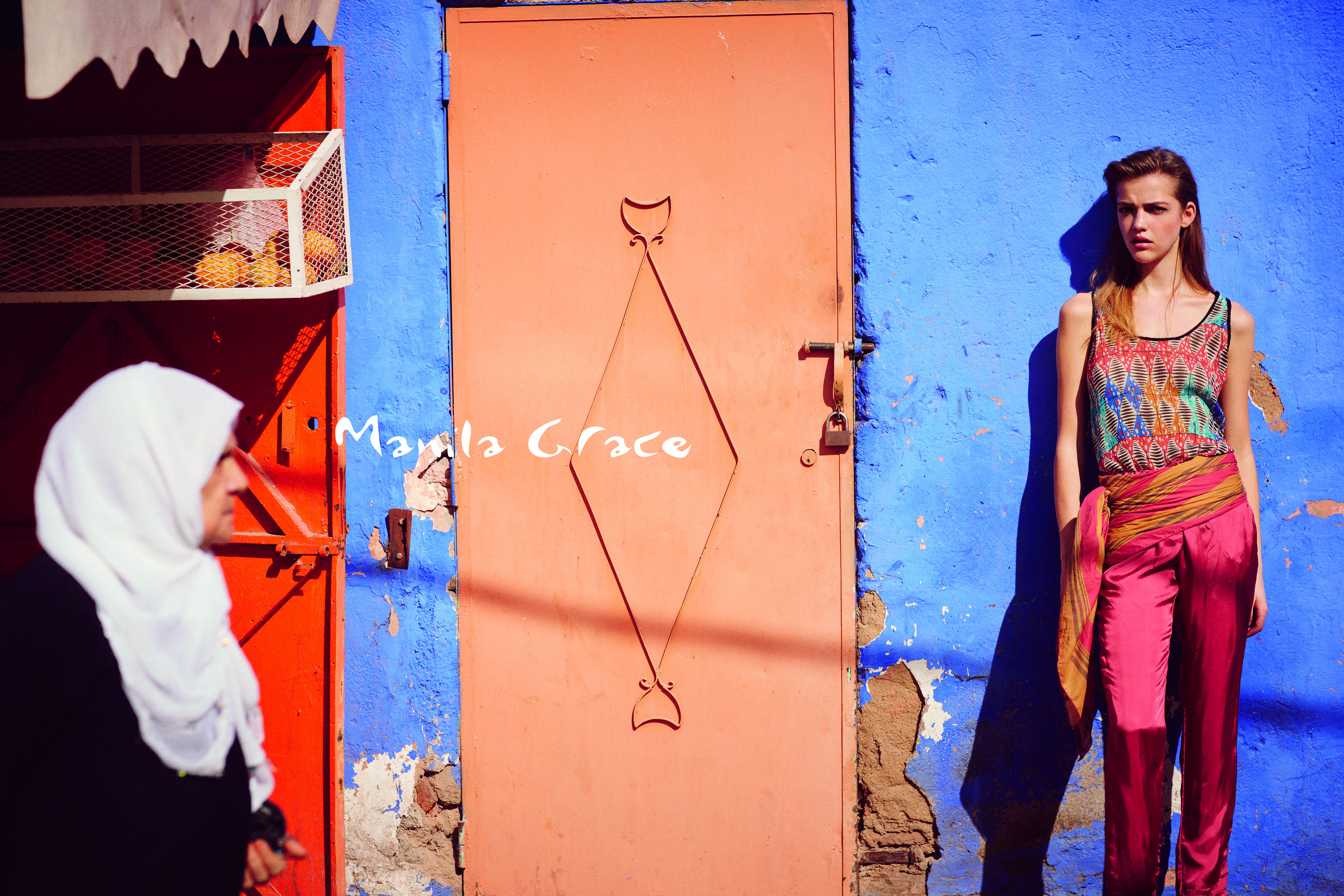 Manila Grace SS15 video campaign Souk Marrakech Mari Nylander