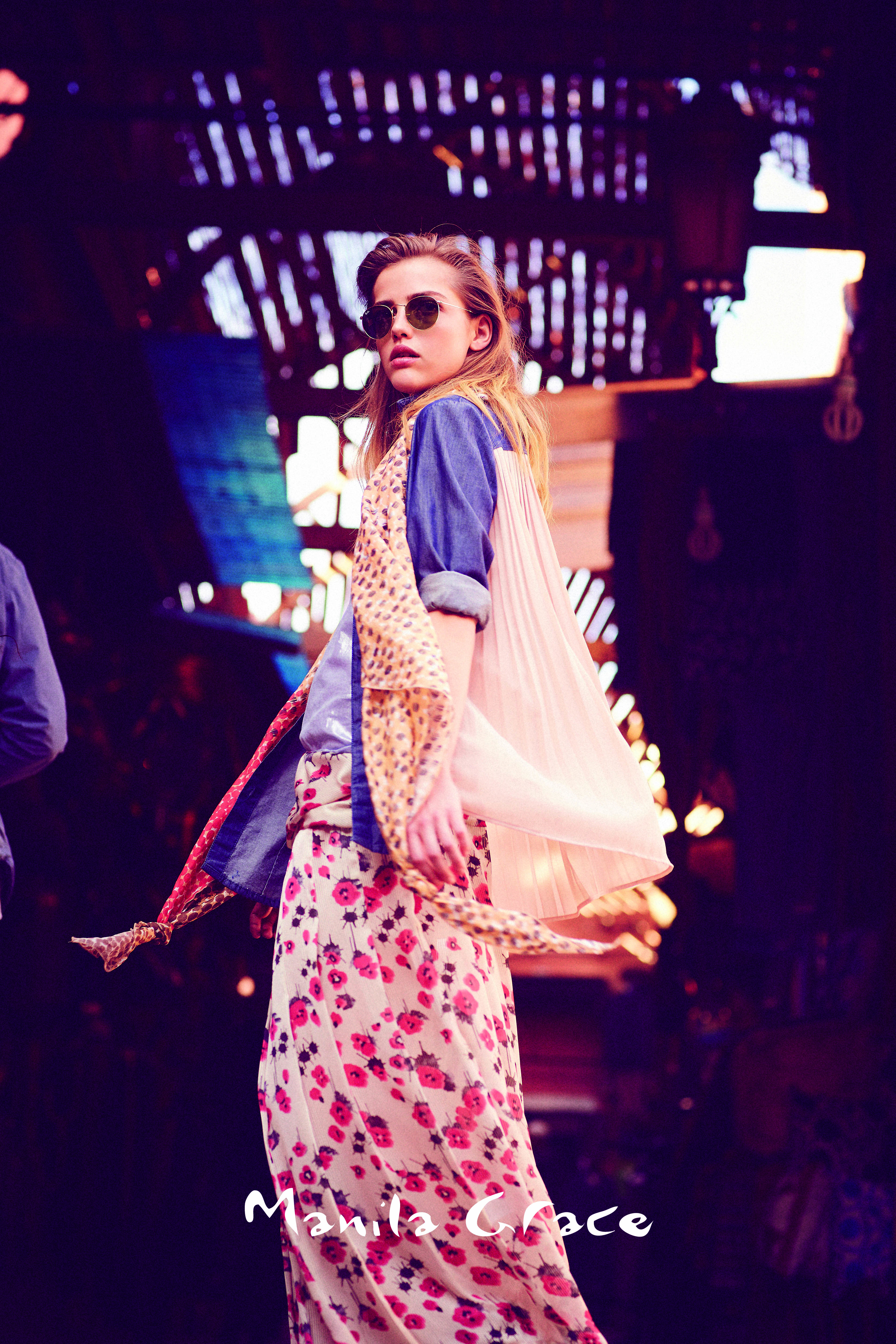 mercato del Souk Manila Grace video Spring Summer 2015