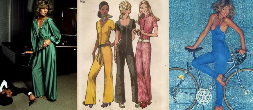 Fashion jumpsuit trend past divas