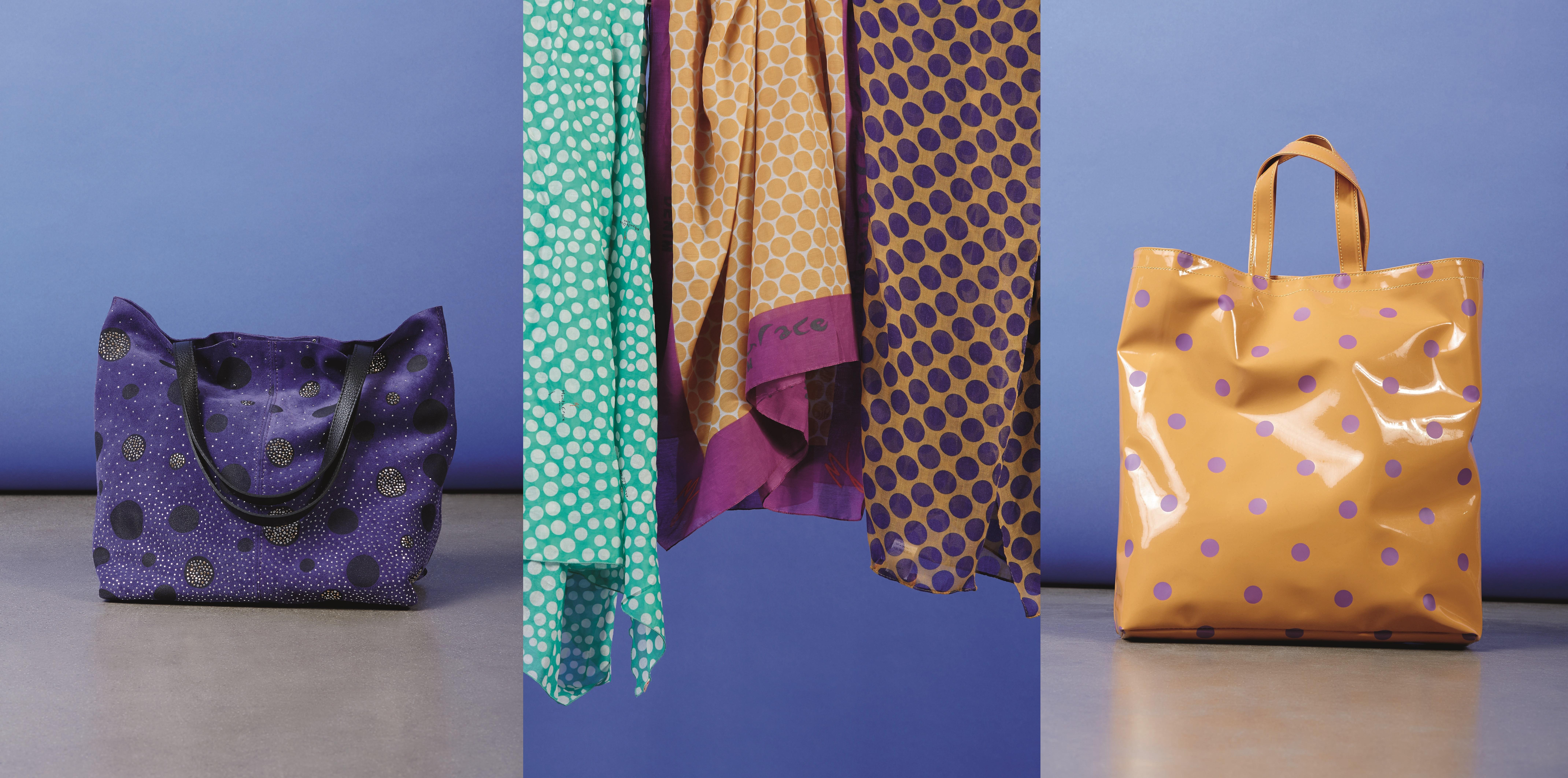 pois borse accessori foulard