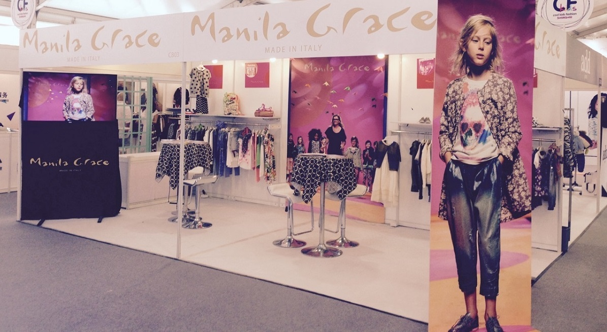 Manila Grace Girl Line Shanghai China 2015