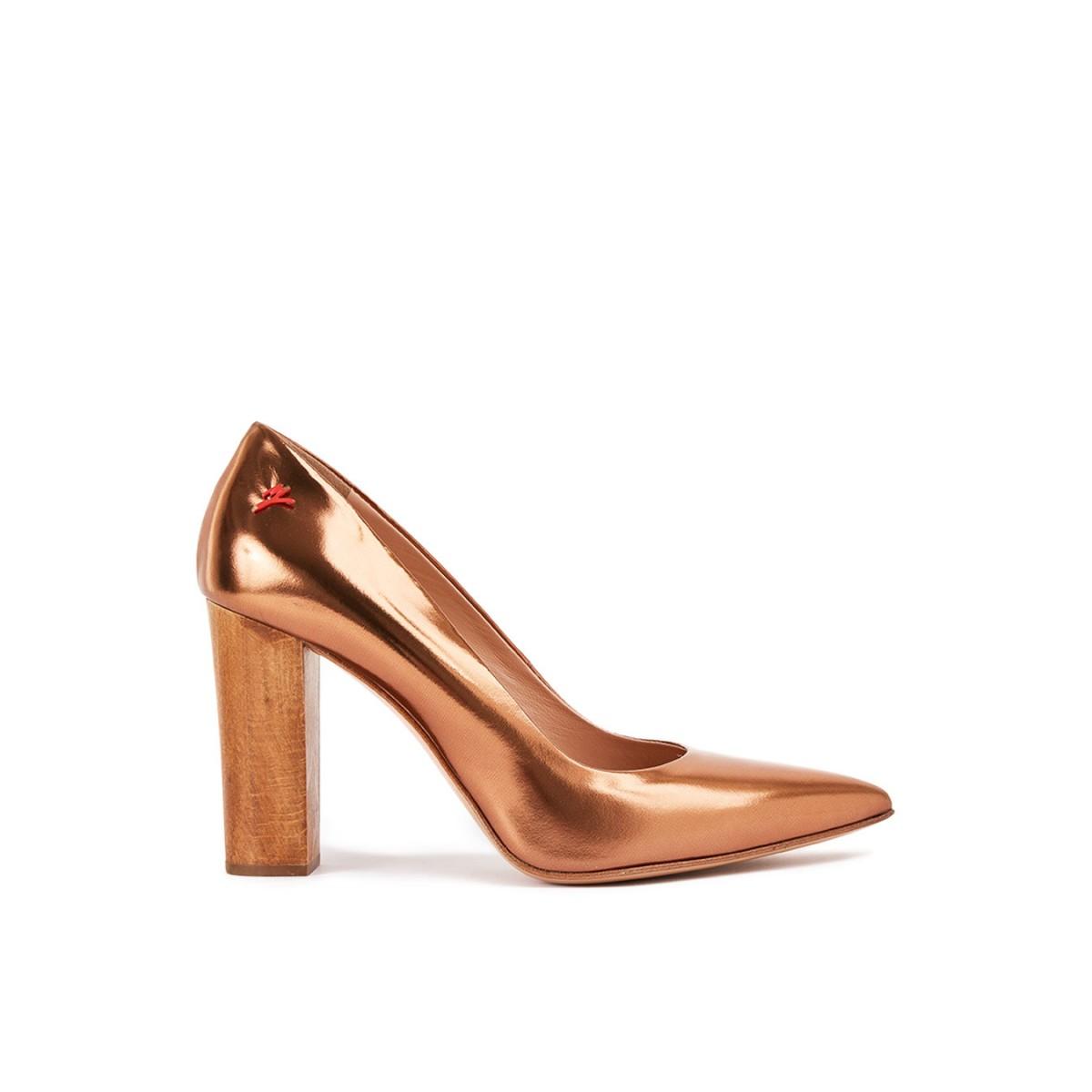 MANILA GRACE Sandalo con cinturino e tacco alto neroargento elegante Donna