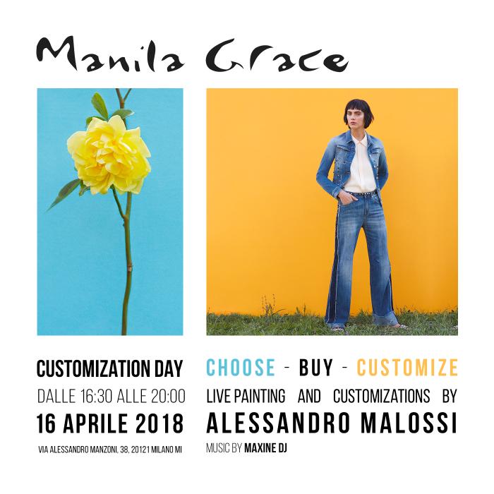 CUSTOMIZATION DAY – ti aspettiamo a Milano!