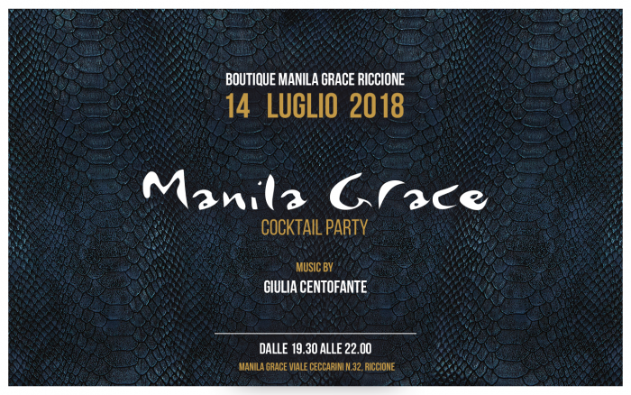 MANILA GRACE COCKTAIL PARTY @ RICCIONE
