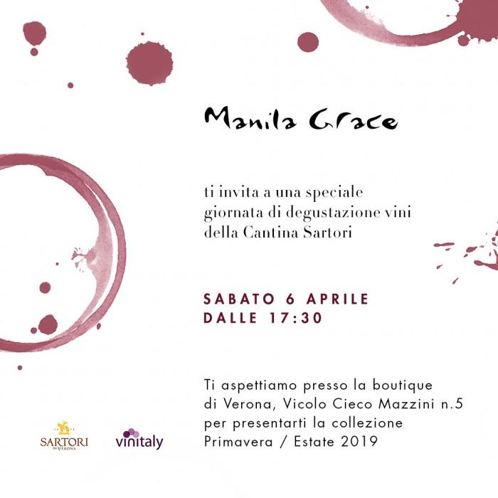 MANILA GRACE – ti aspettiamo a Verona!