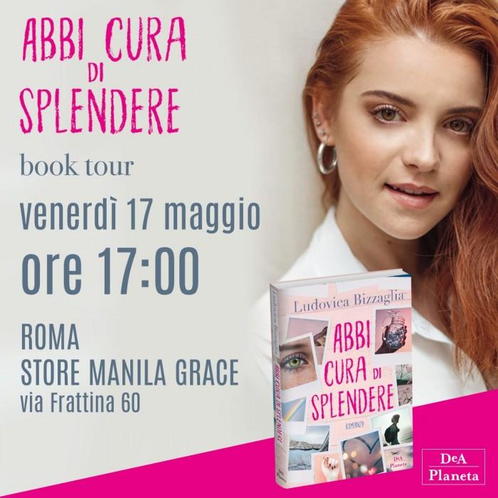 Ludovica Bizzaglia ti aspetta a Roma!